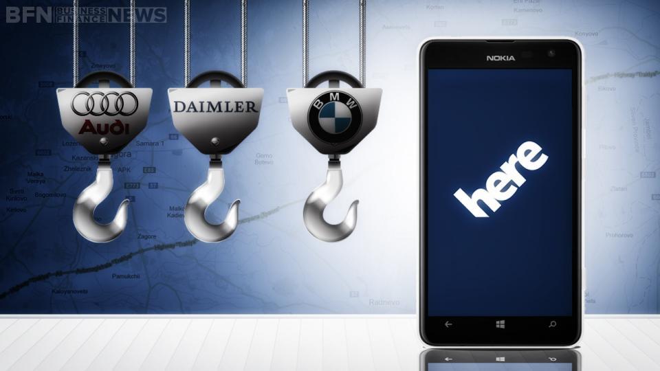 Audi, BMW e Daimler: accordo con Nokia
