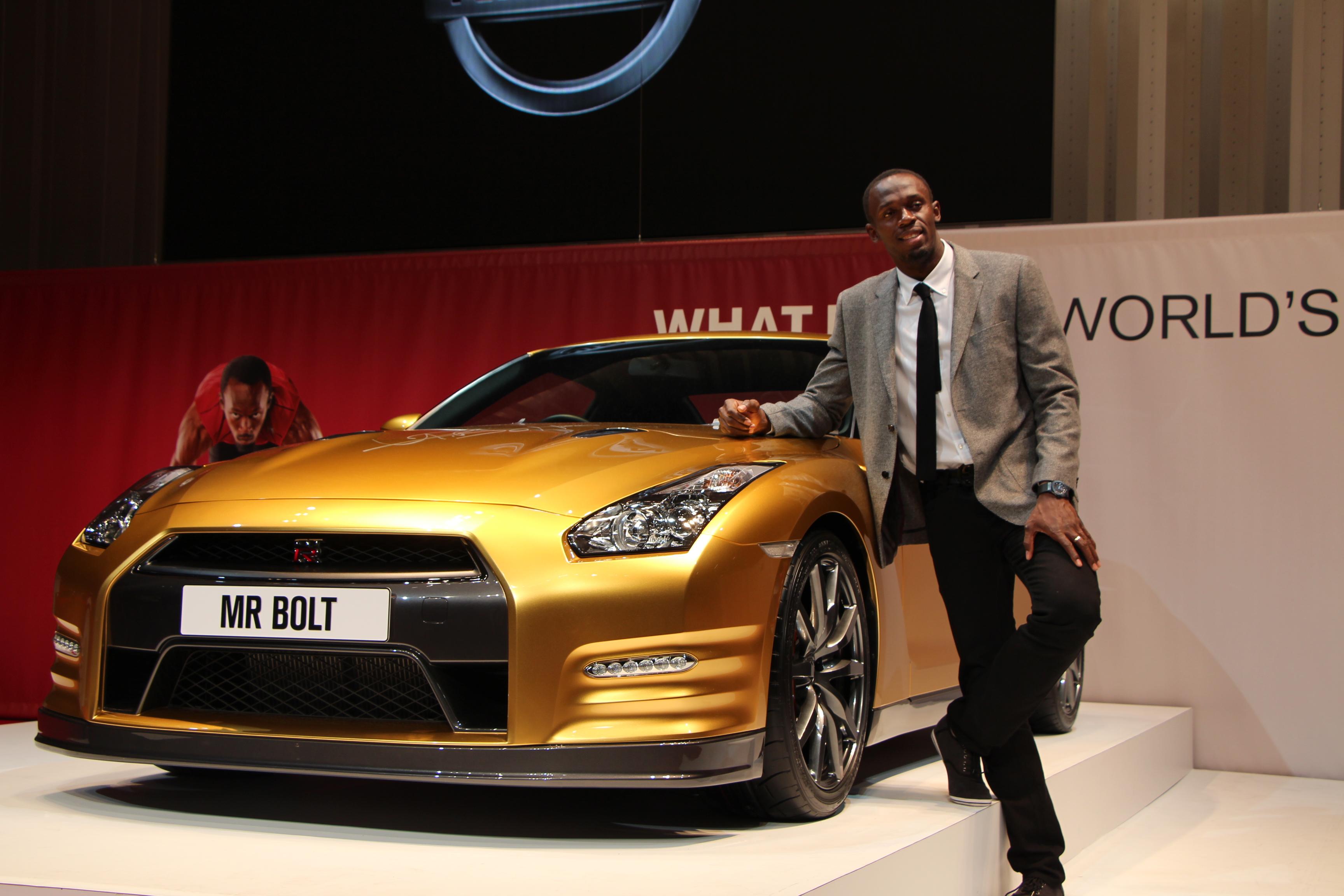 Bolt oro a Pechino e con la Nissan GTR