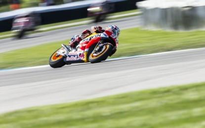 Indy: Marquez, e 5! Davanti a Lorenzo e Rossi