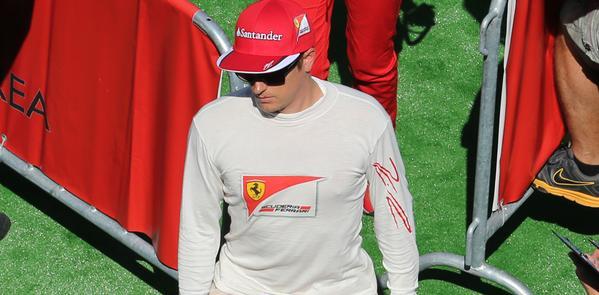 Belgio: 5 posizioni in meno per Kimi