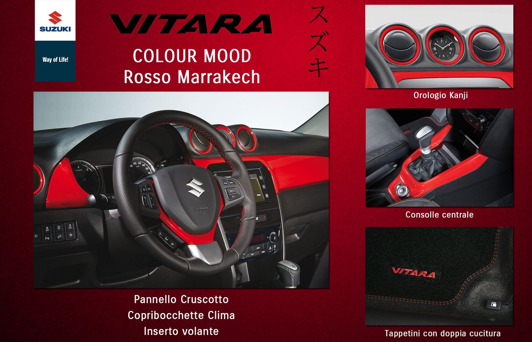 Vitara: nuovi Colour Mood Suzuki