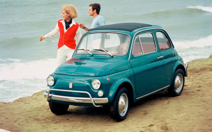 Fiat 500 in mostra a Cherasco