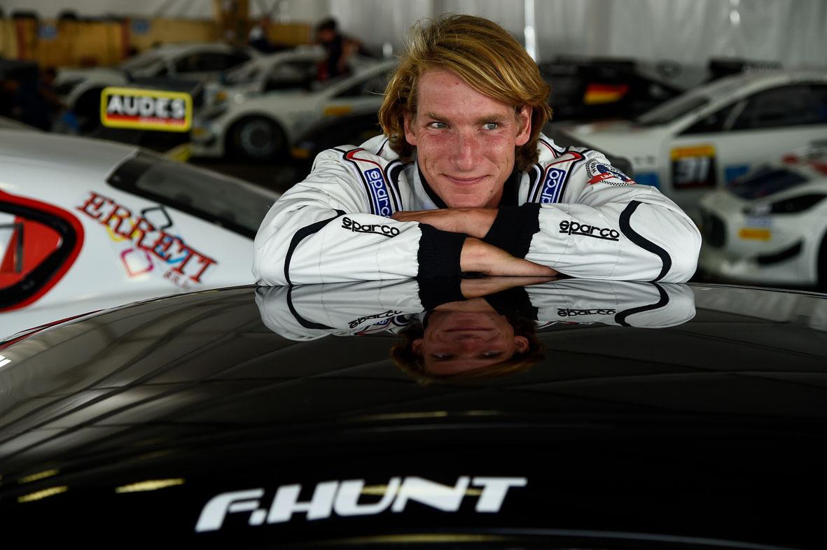Freddie Hunt protagonista al Trofeo Maserati