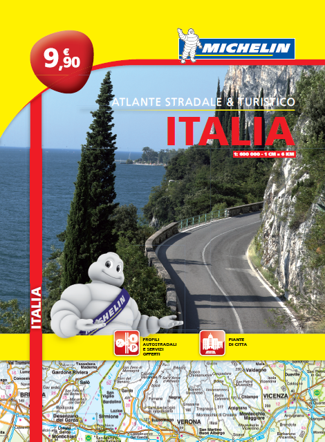 Michelin: Nuovo Atlante Italia