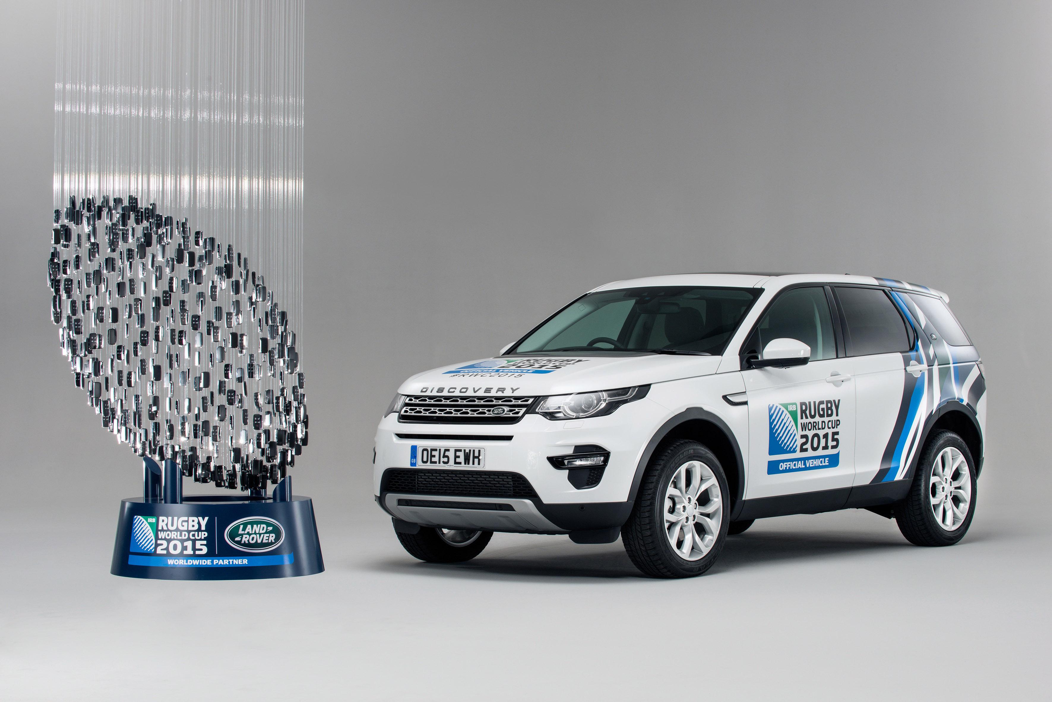 Land Rover per la Coppa del Mondo di Rugby