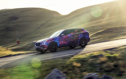 Jaguar F-PACE: guidabilità al top