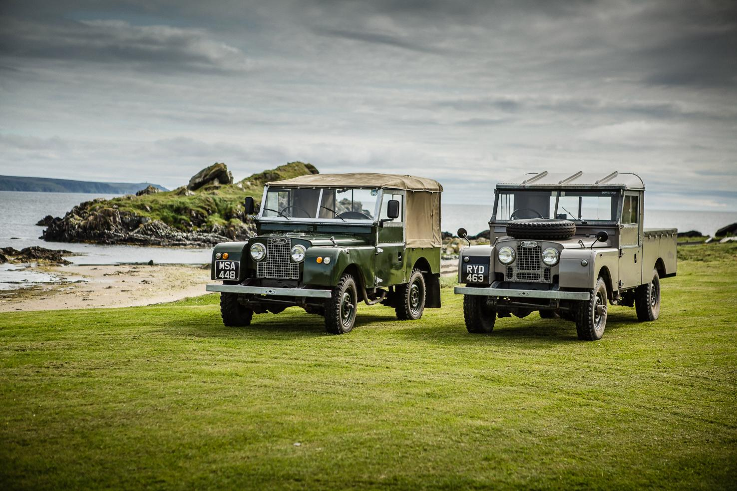 Land Rover ritorna a Islay