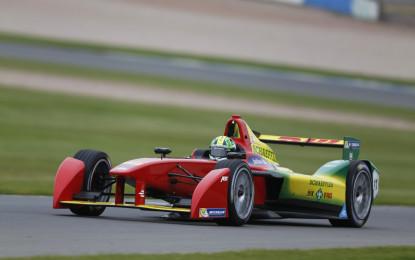 Formula E: Di Grassi abbassa il record sul giro