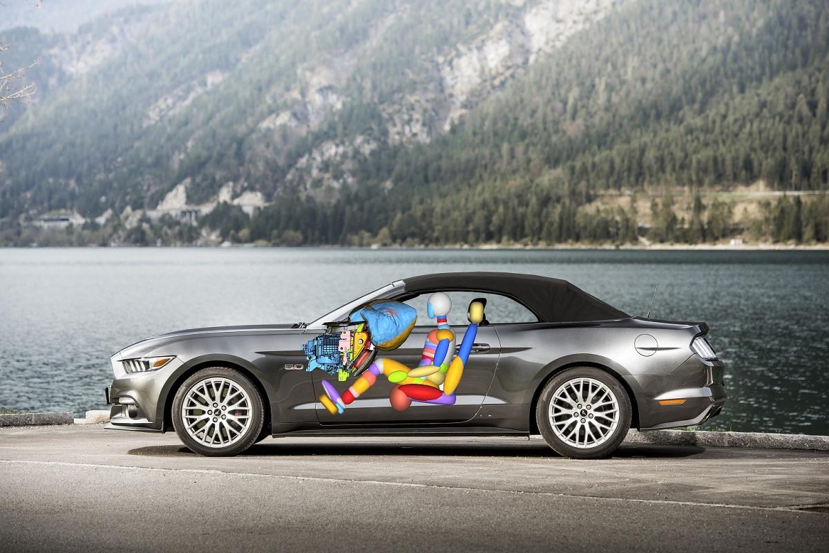 Ford Mustang: sportività e sicurezza