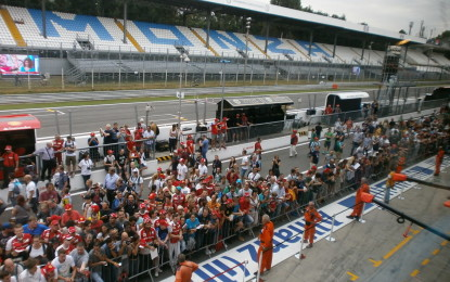 Monza: sconti, pitlane aperta e autografi!