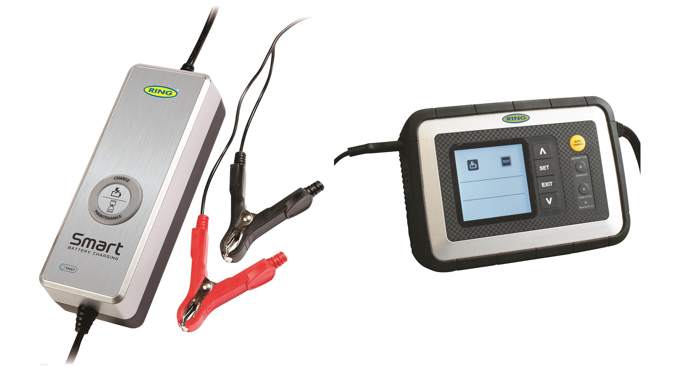 Batterie sempre cariche con Smart Charge