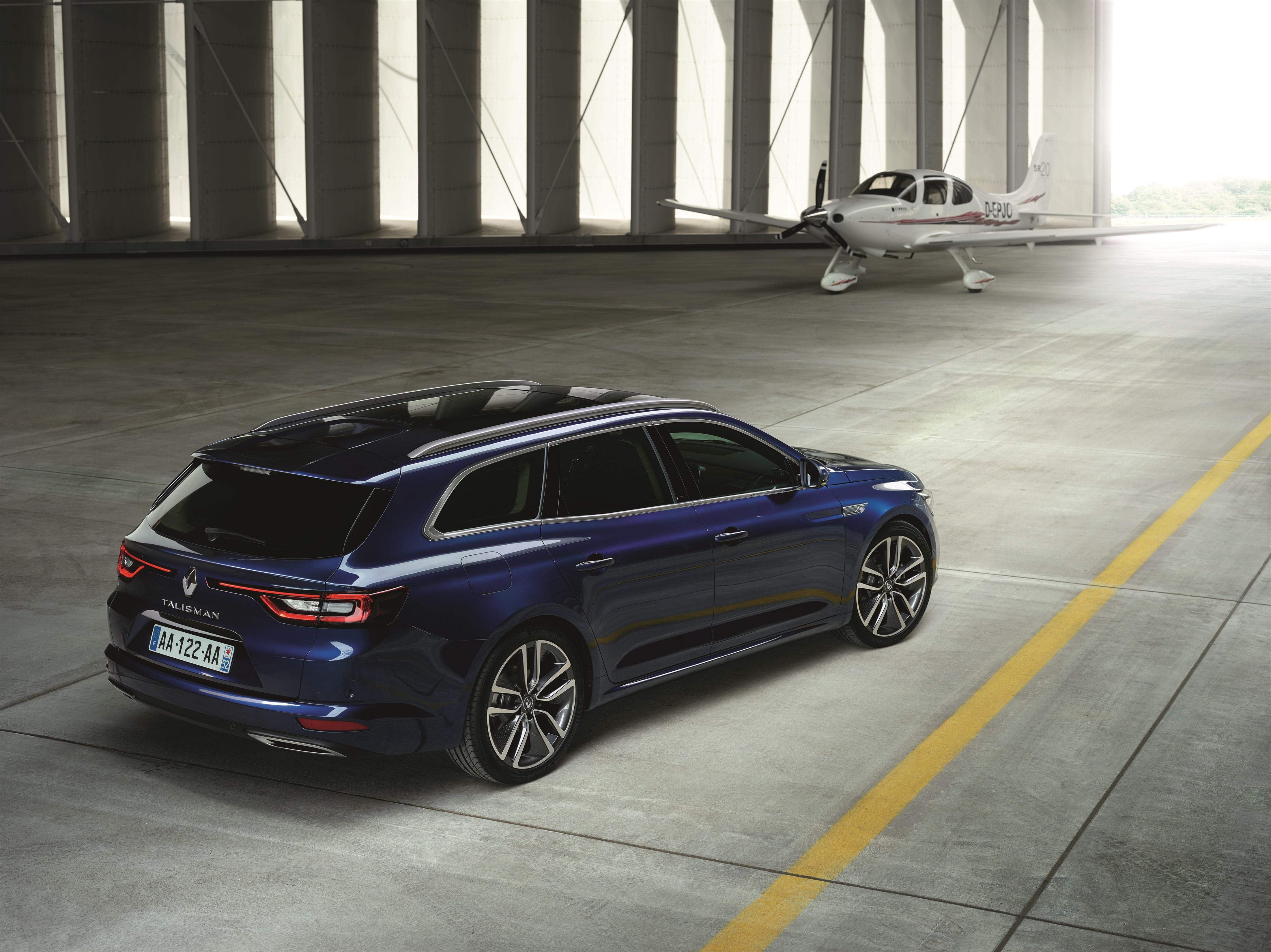 Renault svela la nuova Talisman Sporter