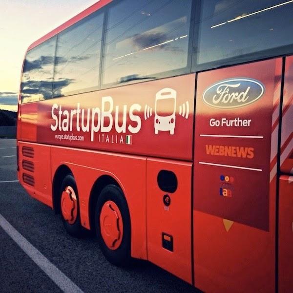 Ford partner di StartupBus