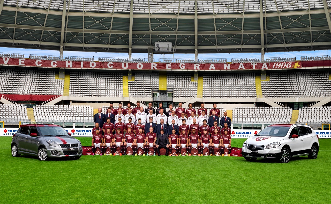 Suzuki Main Sponsor Torino Football Club