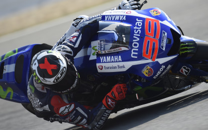 MotoGP: pole record di Lorenzo a Brno