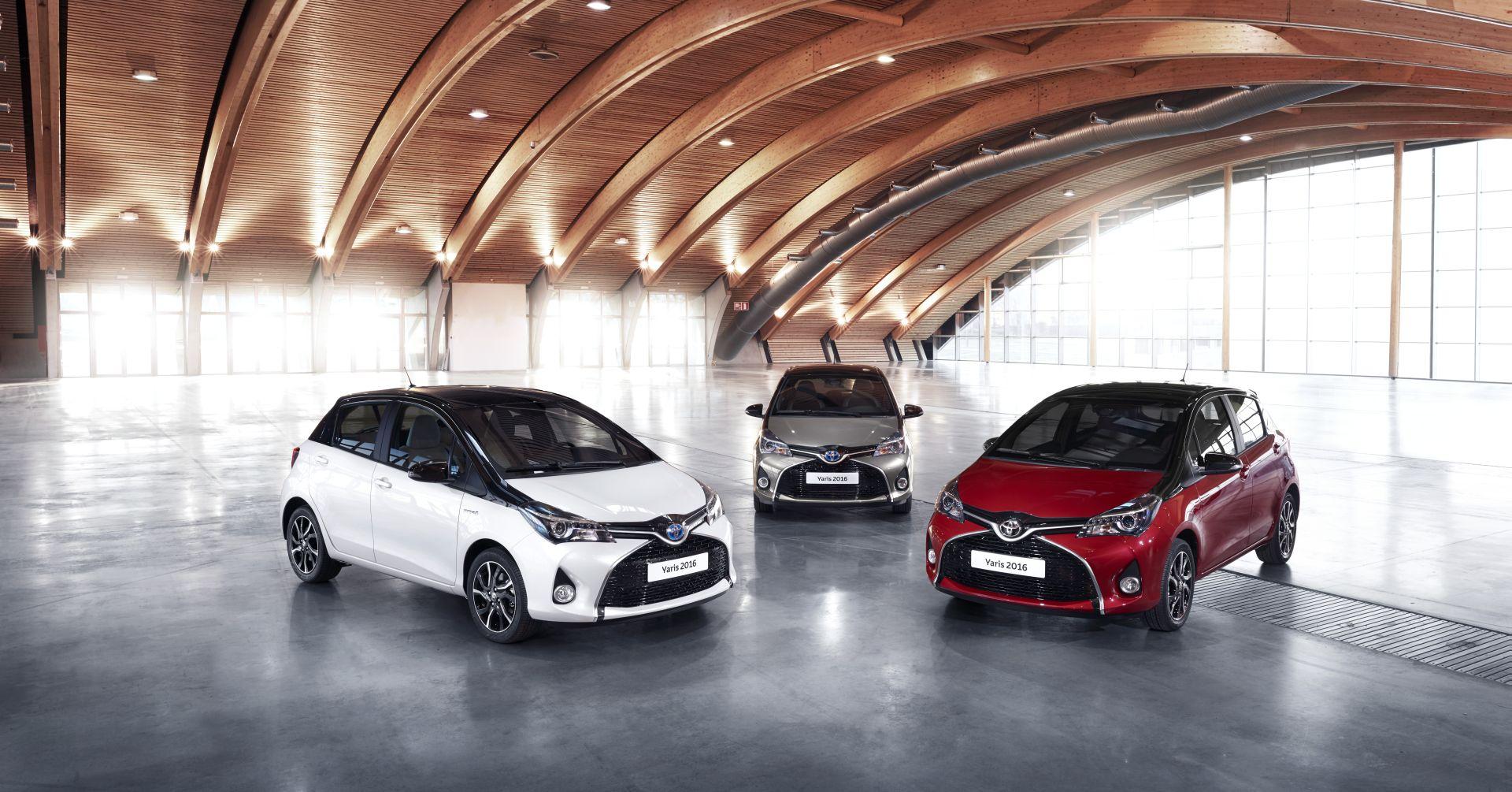 Toyota Yaris Bi-Tone