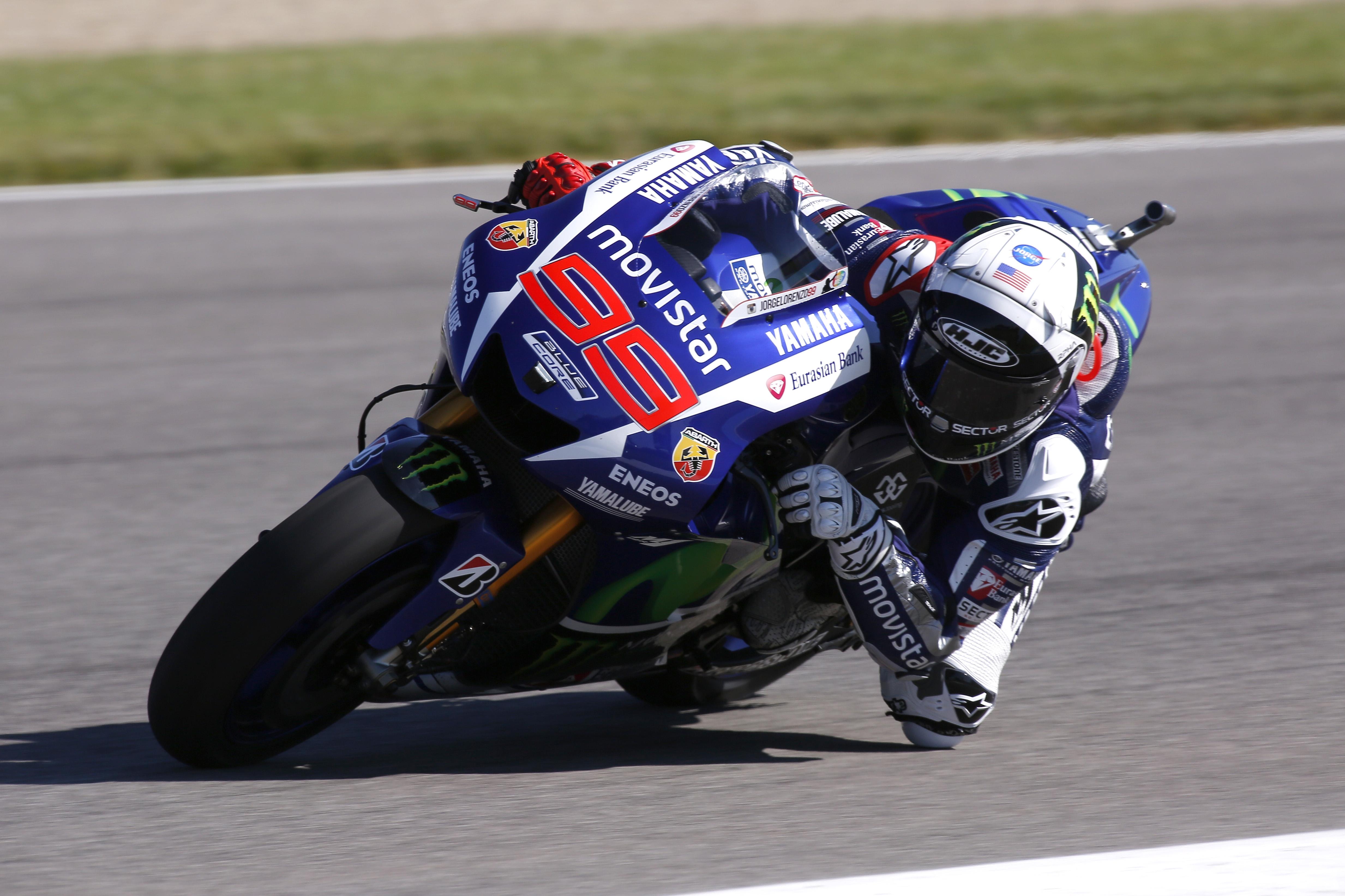 MotoGP: Lorenzo domina il venerdì a Indy
