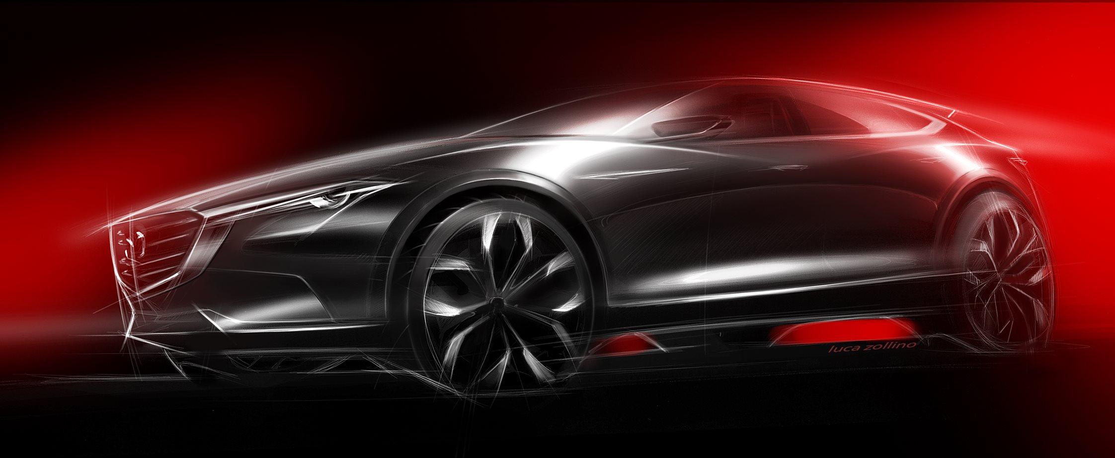 Mazda Koeru si svela a Francoforte