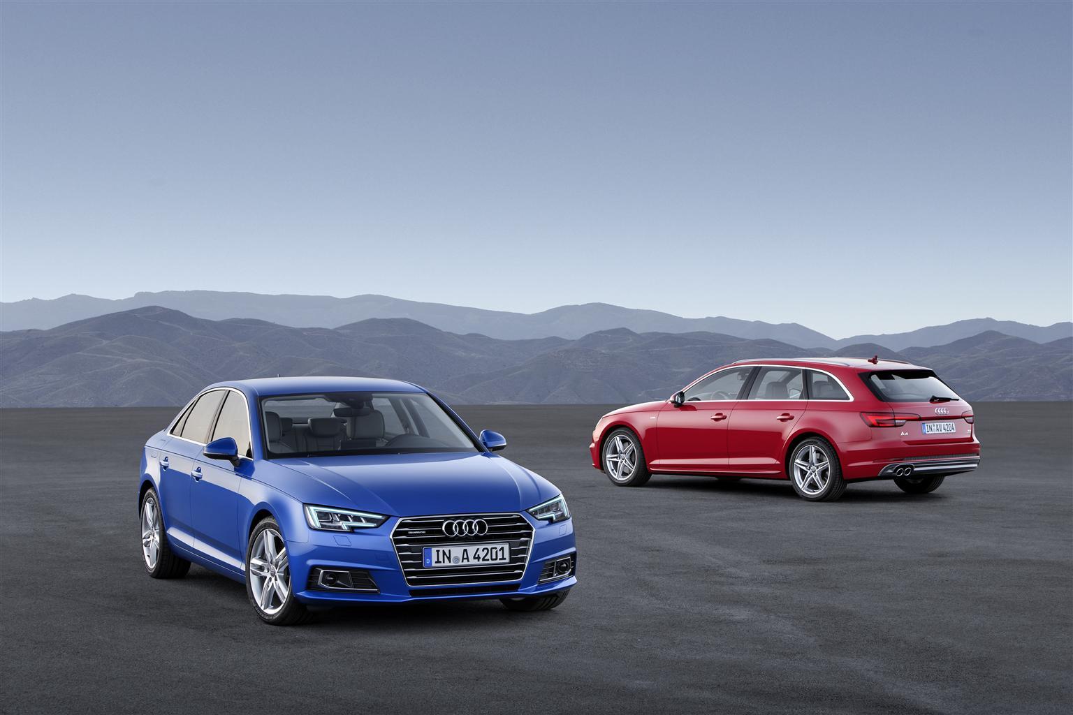 Audi A4: inizio prevendita