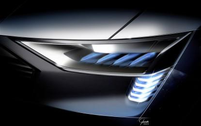 A Francoforte la Audi e-tron quattro concept