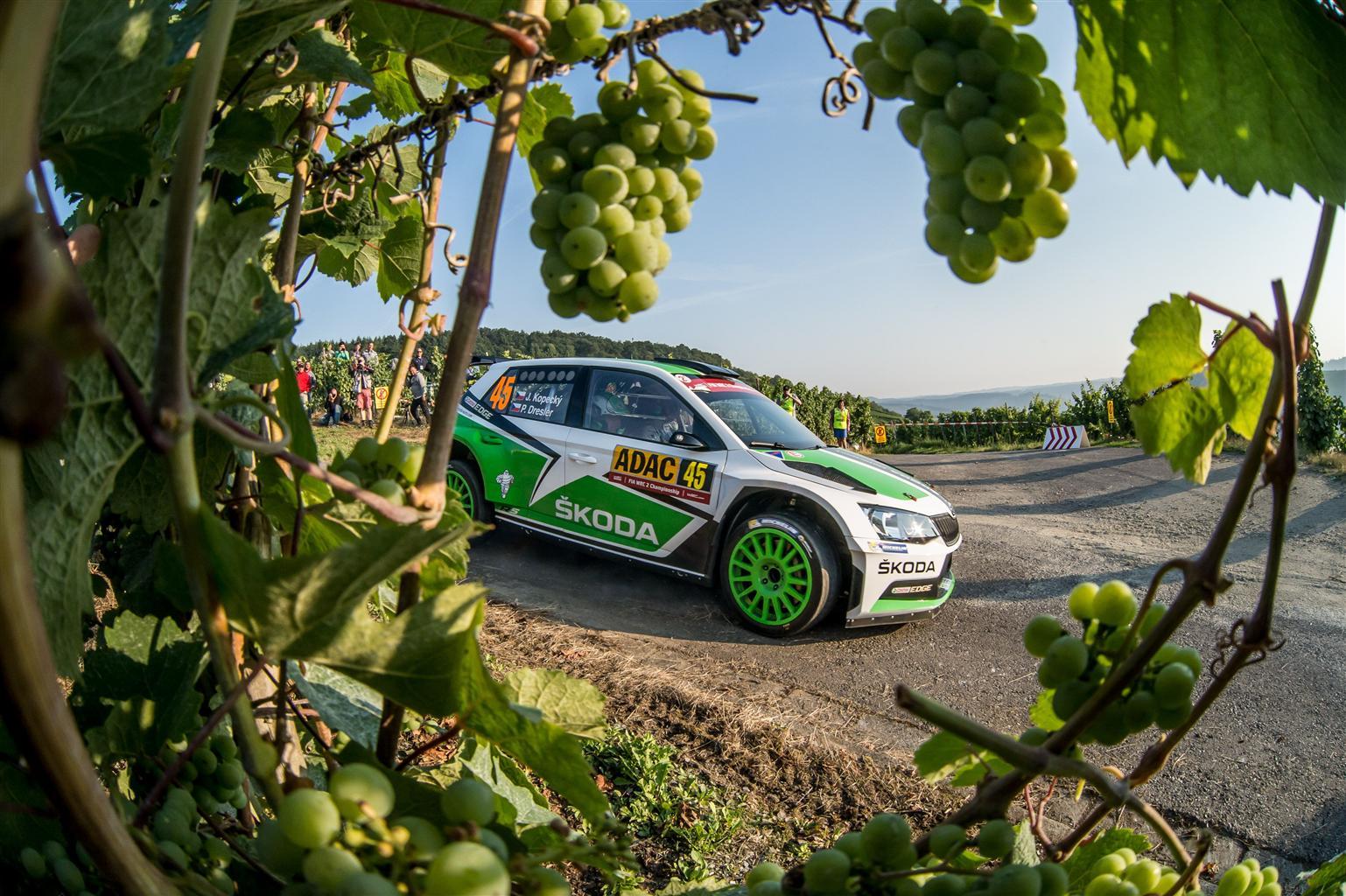 Škoda: un'altra vittoria al WRC2