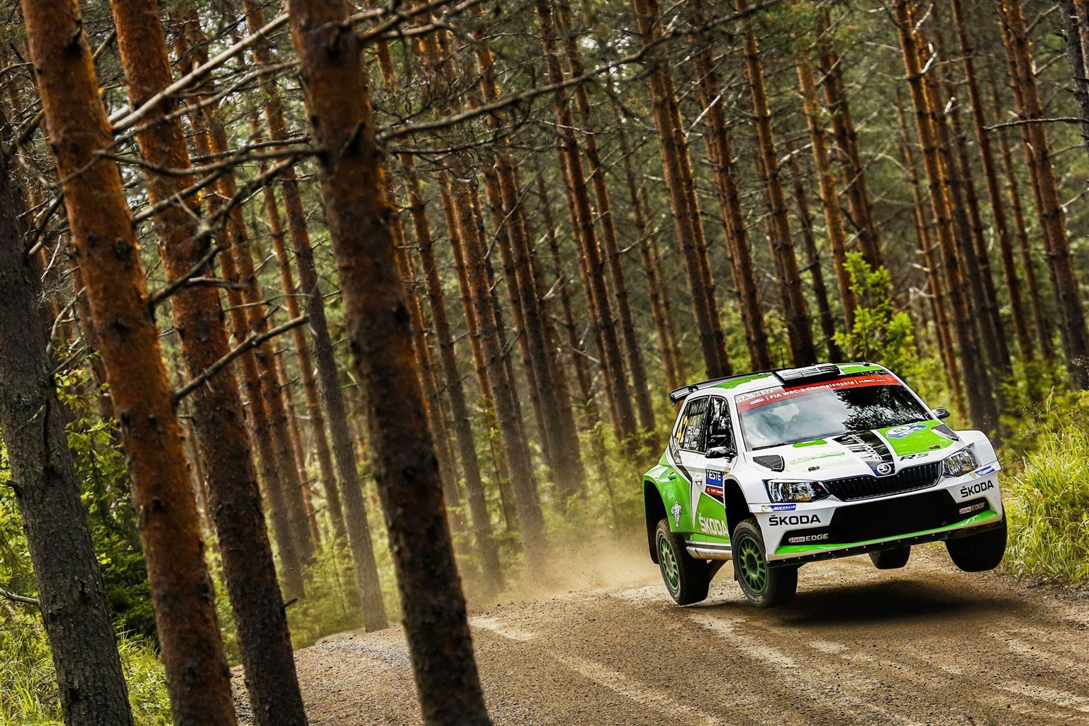 WRC2: ŠKODA vince anche in Finlandia
