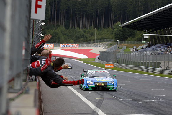 DTM: Mortara wins, Wehrlein takes lead