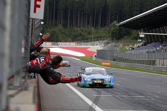 DTM: Mortara wins, Wehrlein takes lead