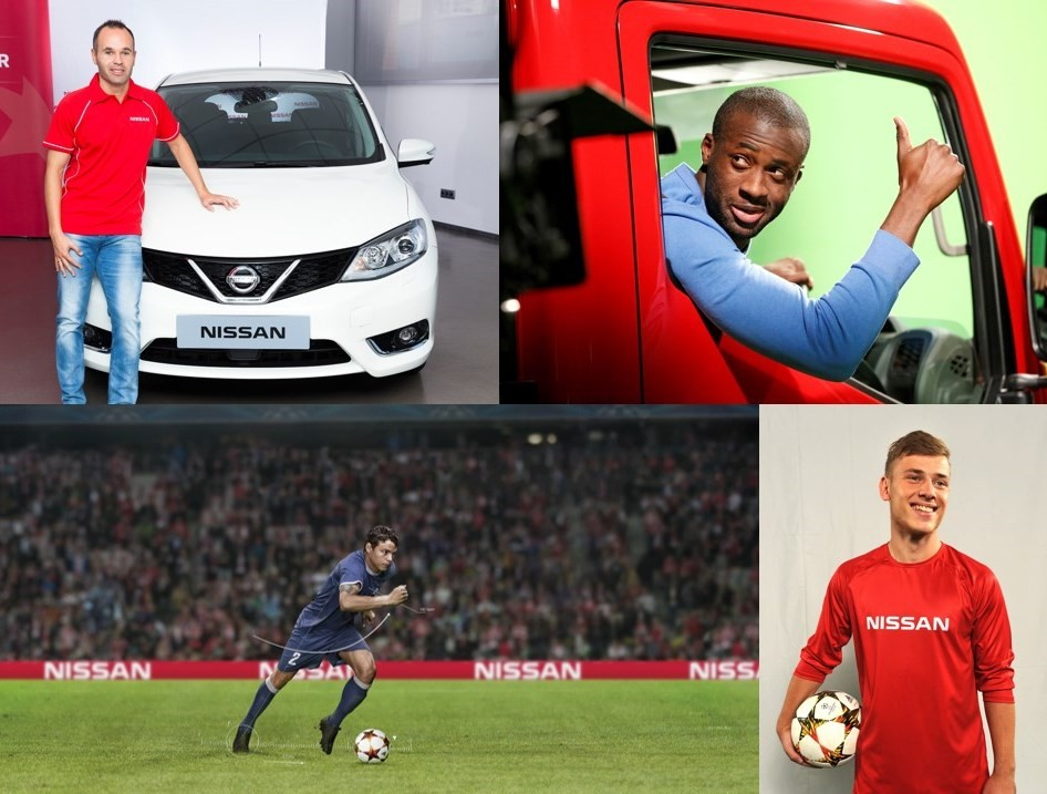 Nissan rinnova con UEFA Champions League