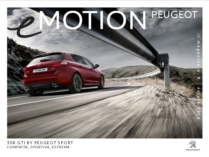 Peugeot eMotion: buona estate a tutti!
