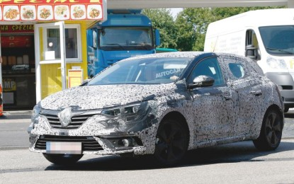 Spy: Renault Megane 2016