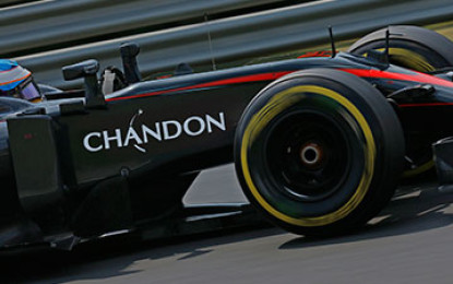 Chandon nuovo sponsor McLaren-Honda