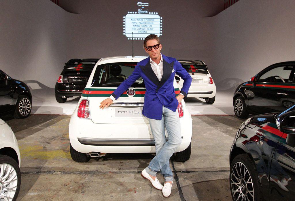 """Fiat con Lapo e Garage Italia Customs per """"amfAR"""""""