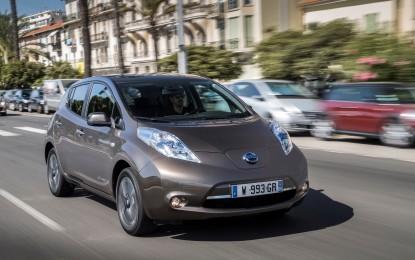 Nissan LEAF: 250 km di autonomia