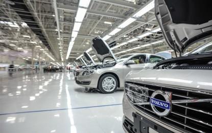 Volvo Cars: controllo di tre joint-venture in Cina