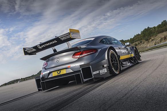 DTM: Mercedes presenta la macchina 2016