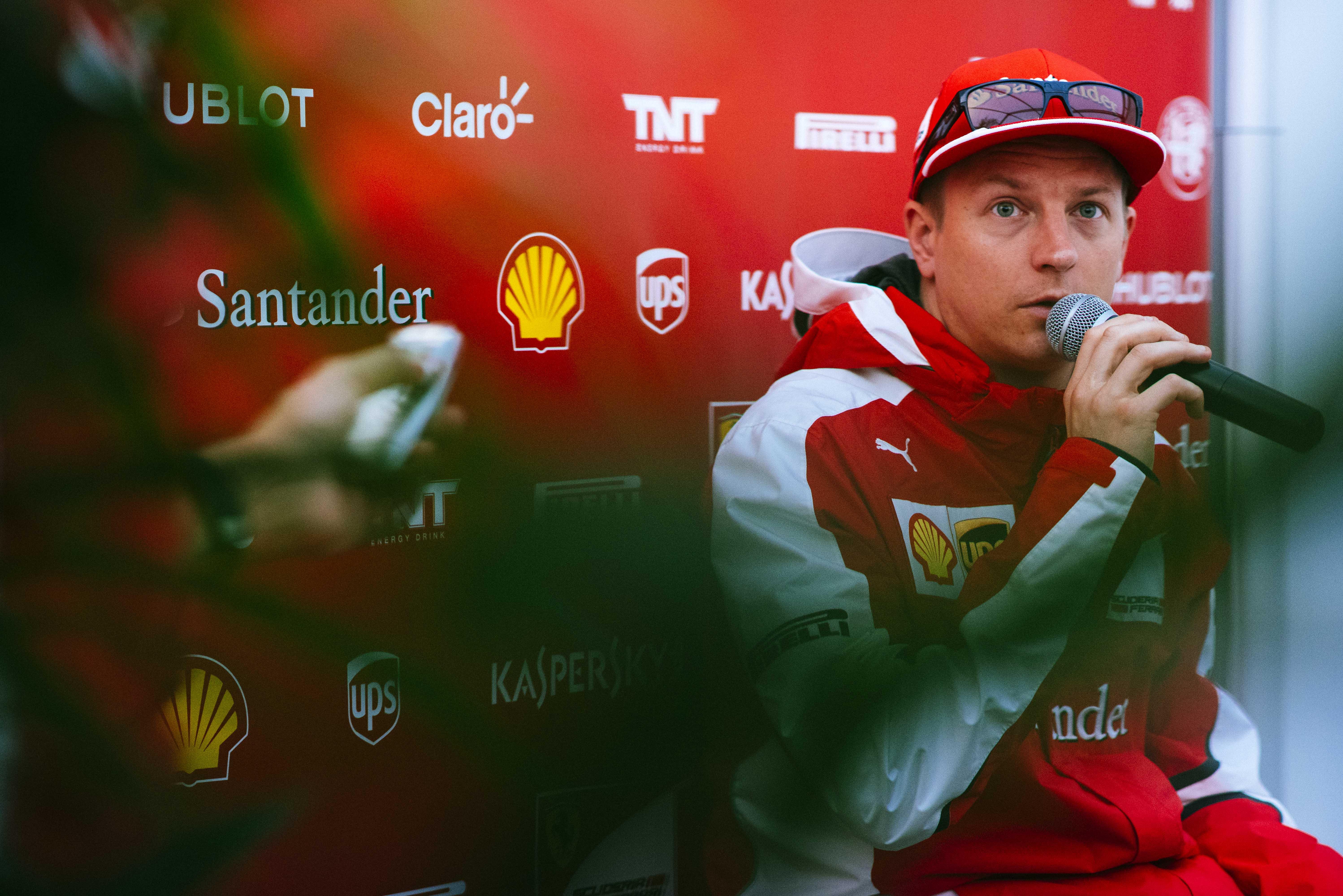 Kimi spera in un buon finale di stagione