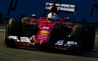 Singapore: prima pole Ferrari per Vettel