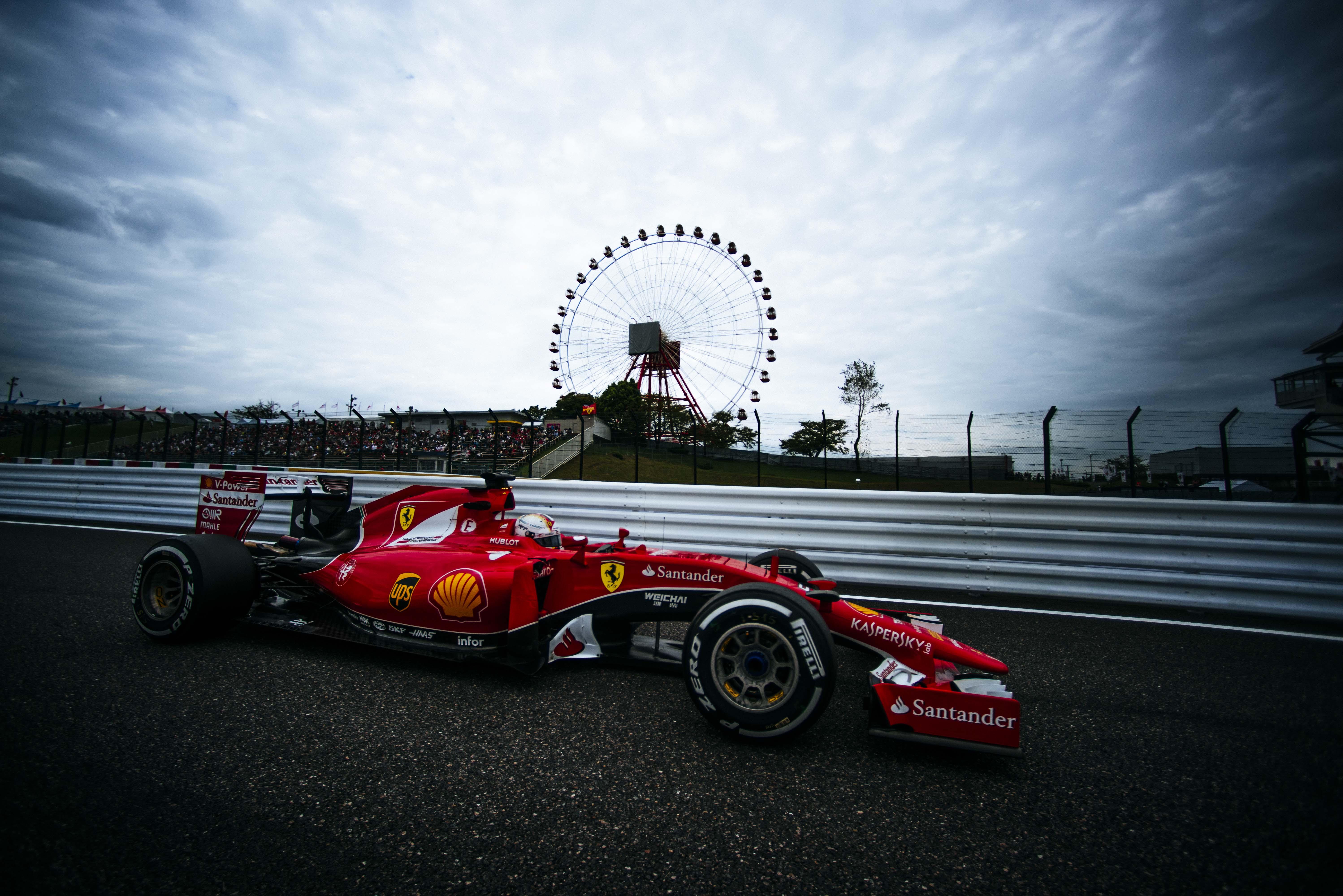 Giappone: seconda e terza fila per la Ferrari