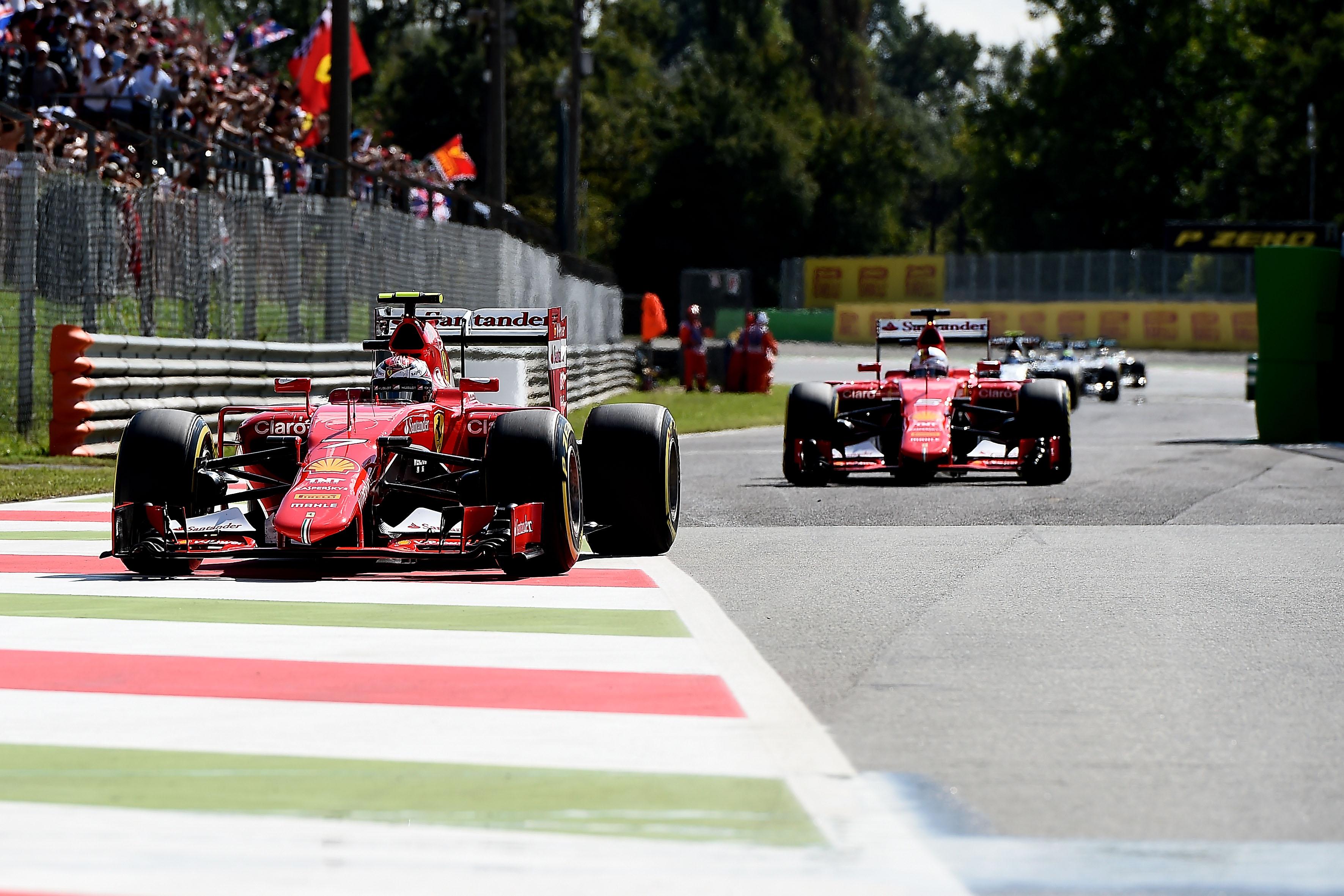 Monza: la Ferrari torna in prima fila