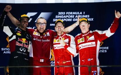 Singapore: gara incredibile per la Ferrari