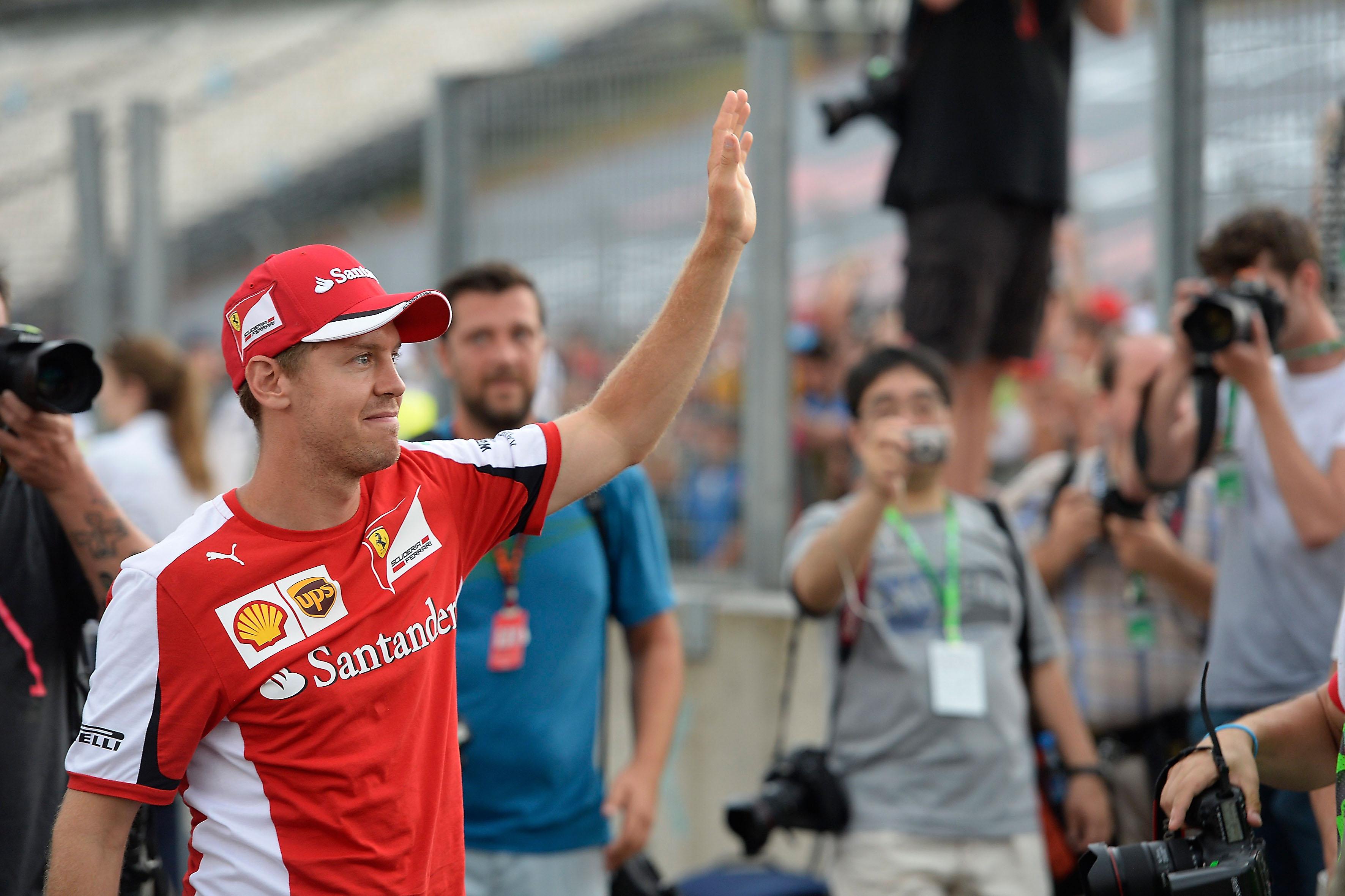 Vettel e il primo GP d'Italia in Rosso