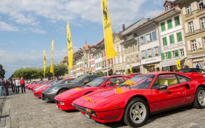 15° raduno Ferrari ad Aarberg
