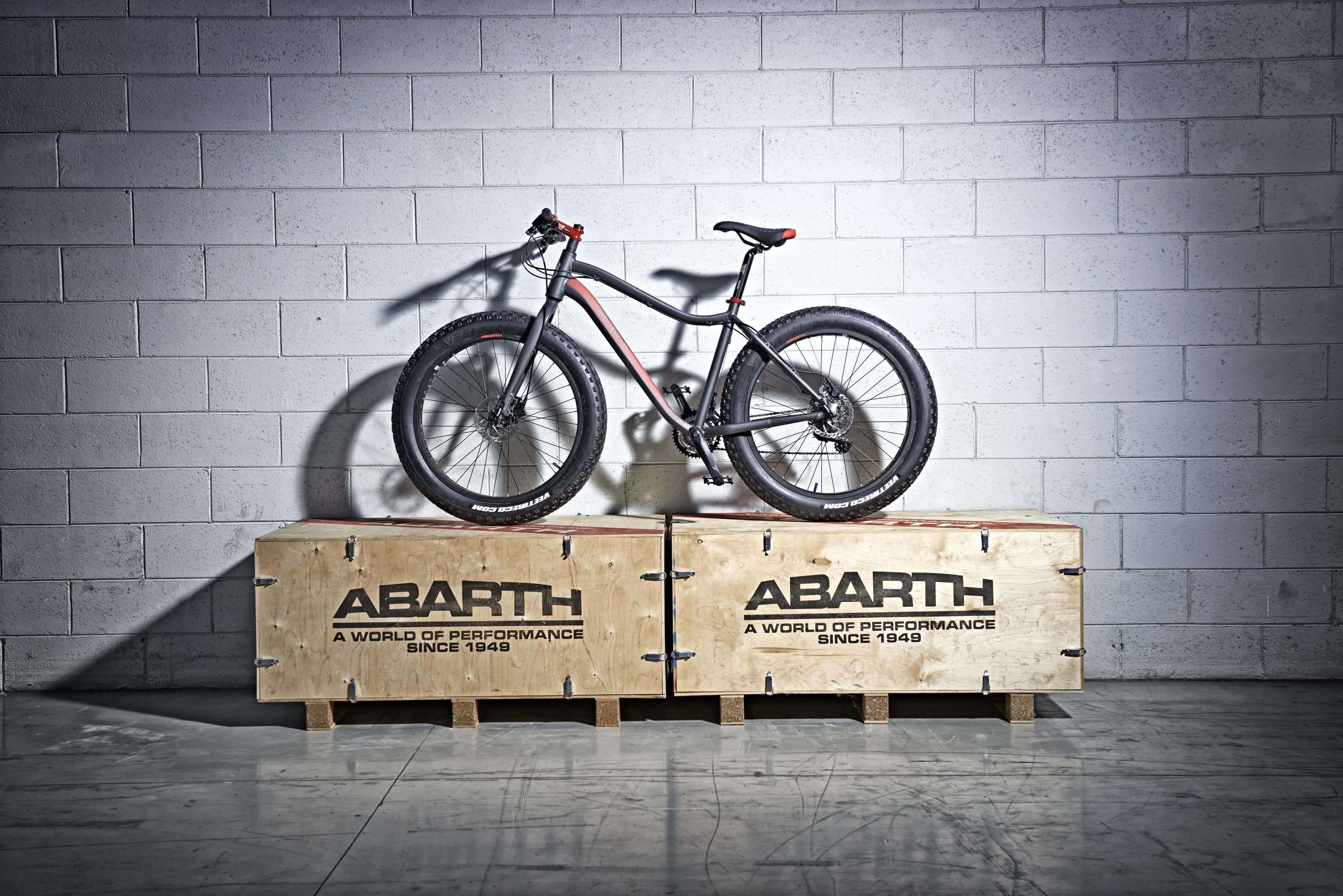 Abarth presenta Extreme Fat Bike
