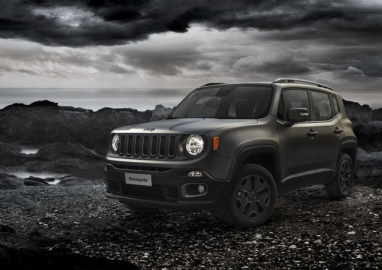 Jeep serie speciale Night Eagle
