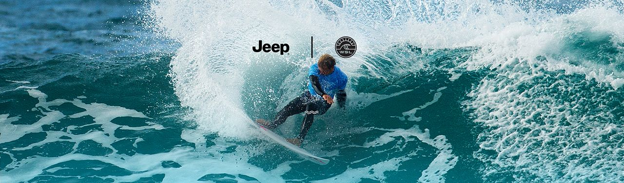 Jeep partner della World Surf League
