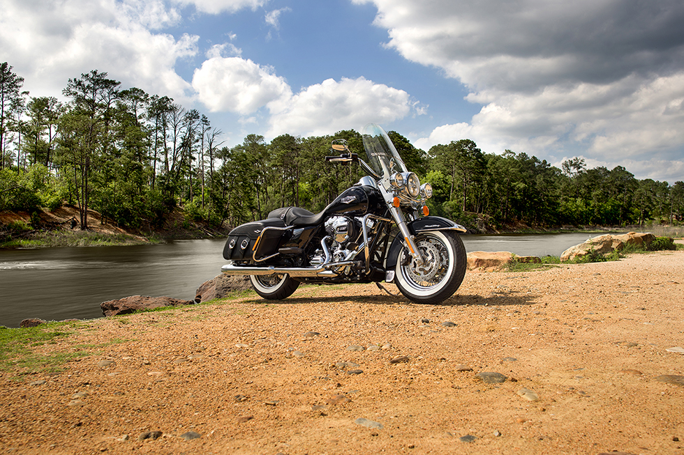 Harley-Davidson al 12° Motoraduno Hills Race
