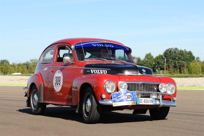 Volvo al Gran Premio Nuvolari 2015