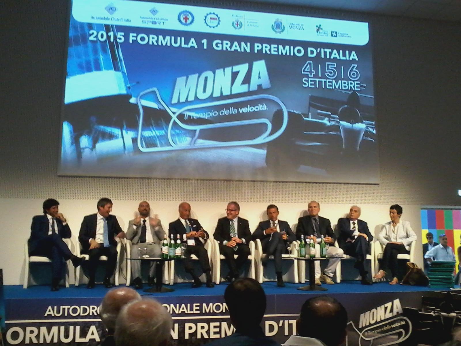L'86° GP d'Italia si presenta a Expo2015