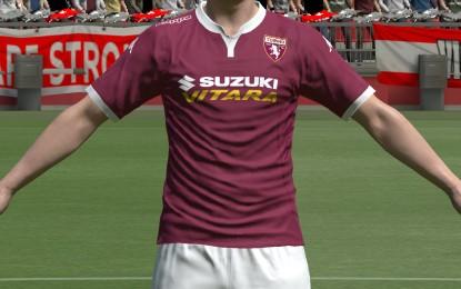 Suzuki a tutto campo col Torino F.C.